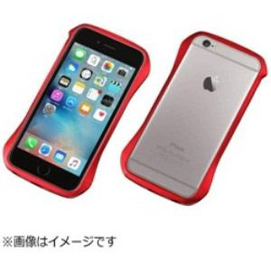 DEFF DCB-IP6SA6RD iPhone 6s/6用 CLEAVE Aluminum Bumper フレアレッド