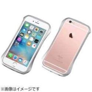 DEFF DCB-IP6SA6SV iPhone 6s/6用 CLEAVE Aluminum Bumper コスミックシルバー