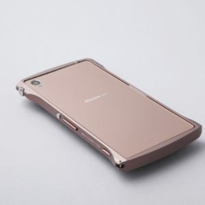 DEFF DCB-XZ3A6CO CLEAVE Chrono Aluminum Bumper for Xperia Z3 カッパー