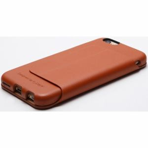DEFF DCS-IP6PGLCA iPhone 6 Plus/6s Plus用本革レザーケース キャメル