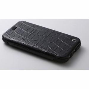 DEFF DCS-IP6PSLBK iPhone 6 Plus/6s Plus対応 本革レザーケース シープレザー&レザー/牛 ブラック