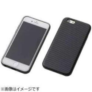 DEFF DCS-IP6SAKVBK iPhone 6s/6用 Hybrid Case UNIO Kevler Black ケブラーブラック+アルミブラック