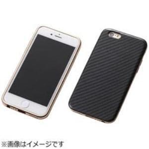 DEFF DCS-IP6SAKVRG iPhone 6s/6用 Hybrid Case UNIO Kevler Black ケブラーブラック+アルミローズゴールド