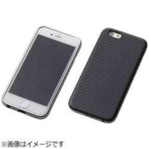 DEFF DCS-IP6SAKVSV iPhone 6s/6用 Hybrid Case UNIO Kevler Black ケブラーブラック+アルミシルバー