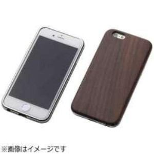 DEFF DCS-IP6SAWDSV iPhone 6s/6用 Hybrid Case UNIO Ebony エボニー+アルミシルバー