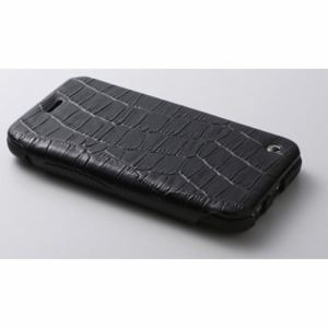 DEFF DCS-IP6SLBK iPhone 6/6s対応 本革レザーケース シープレザー&レザー/牛 ブラック