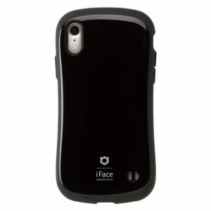Hamee iFace FC Standard BK iPhone XR用ケース 耐衝撃 ブラック