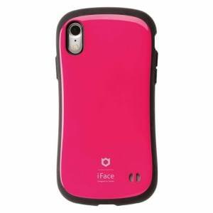 Hamee iFace FC Standard HPK iPhone XR用ケース 耐衝撃 ホットピンク