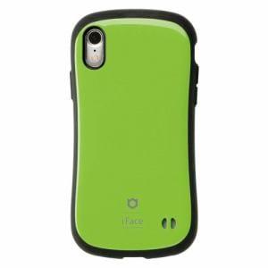 Hamee iFace FC Standard GR iPhone XR用ケース 耐衝撃 グリーン