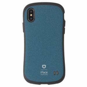 Hamee iFace FC Sense BU iPhone XS Max用ケース ブルー