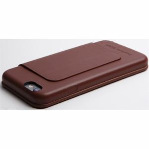 DEFF DCS-IP6PGLBR iPhone 6 Plus/6s Plus用本革レザーケース ブラウン