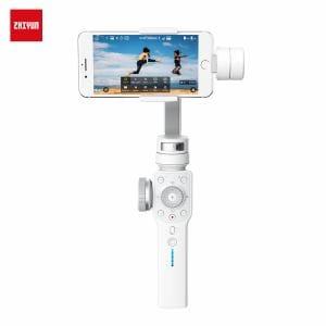 ZHIYUN(ジーウン) Smooth 4-White C030016J1 プロカメラマンや映像クリエーターに愛用される電動スタビライザー