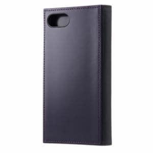 Softbank Selection RILEGA SB-IA15-LCFB/PP パープル iPhone 7用 RILEGA Edge Flip 手帳型ケース