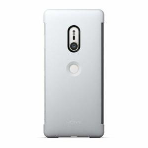ソニー Xperia XZ3 Style Cover Touch SCTH70JP/H グレー