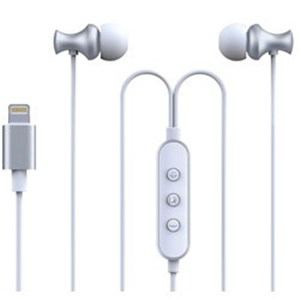 MSソリューションズ LP-LNE03SV iPhone/iPad/iPod Lightningイヤフォン極の音域 Digital Feel 匠SV
