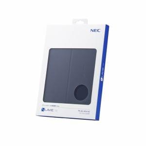 NEC PC-AC-AD013C  TE410/JAW用カバー&保護フィルム LAVIE Tab E  ネイビーブルー