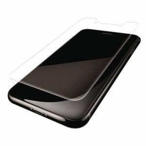 エレコム PM-A18DFLFPRN iPhoneXSMax iPhone XS Max用フルカバーフィルム/衝撃吸収/反射防止/透明/防指紋