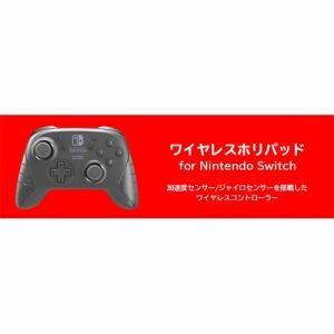 ホリ NSW-077 ワイヤレスホリパッド for Nintendo Switch