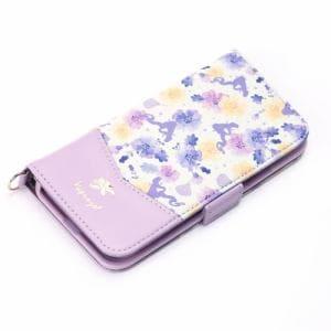 PGA PG-DFP641RPZ iPhone XS/X用 フリップカバー Premium Style  ラプンツェル