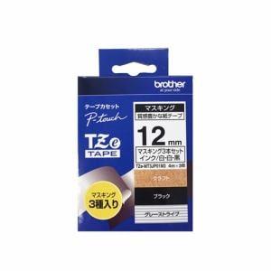 ブラザー TZE-MT3JP01M3 ピータッチ(P-touch) マスキングテープ