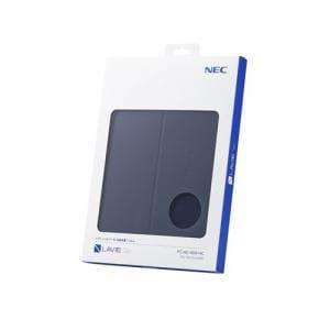NEC PC-AC-AD014C TE510/JAW用カバー&保護フィルム ネイビーブルー