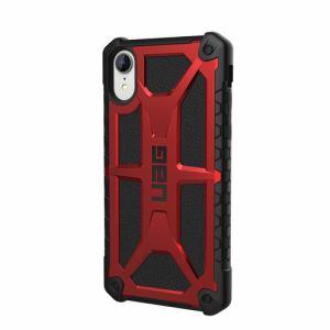 プリンストン iPhone XR用(6.1インチ)対応ケース Monarch (クリムゾン) UAG-RIPH18S-P-CR