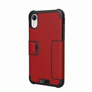 プリンストン iPhone XR用(6.1インチ)対応ケース Metropolis 手帳型 (マグマ) UAG-RIPH18SF-MG
