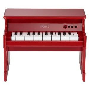 KORG ミニ25鍵盤搭載 ミニチュア・ピアノ tinyPIANO-RD
