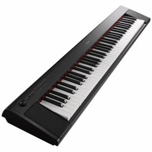 電子ピアノ ヤマハ 76鍵盤 NP-32B 電子キーボード 「piaggero(ピアジェーロ)」 76鍵盤 ブラック