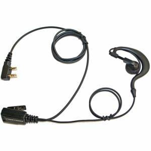 エフ・アール・シー FPG-23K 高耐久・PRO仕様 特定小電力トランシーバー用イヤホンマイク(耳掛けタイプ/KENWOOD 2Pinタイプ対応)