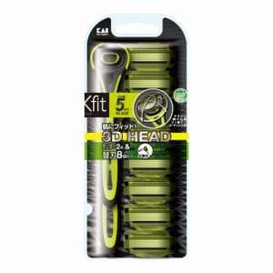 貝印 カミソリ Xfit 敏感肌用 バリューパック 替刃8個入