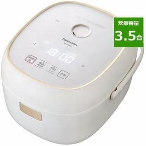 パナソニック SR-KT060-W IH炊飯器 3.5合炊き ホワイト