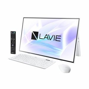 NEC PC-HA970RAW デスクトップパソコン LAVIE Home All-in-one  ファインホワイト