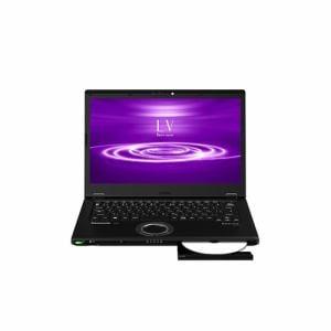 パナソニック CF-LV8PDNQR モバイルノートパソコン レッツノートLV  ブラック