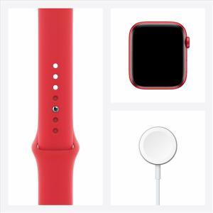 アップル(Apple) M00M3J/A Apple Watch Series 6(GPSモデル)- 44mm (PRODUCT)REDアルミニウムケースと(PRODUCT)REDスポーツバンド