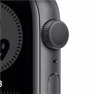 アップル(Apple) MG173J/A Apple Watch Nike Series 6(GPSモデル)- 44mmスペースグレイアルミニウムケースとアンスラサイト/ブラックNikeスポーツバンド