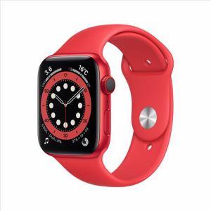 アップル(Apple) M09C3J/A Apple Watch Series 6(GPS + Cellularモデル)- 44mm (PRODUCT)REDアルミニウムケースと(PRODUCT)REDスポーツバンド