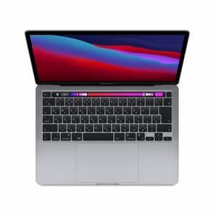 アップル(Apple) MYD92J/A MacBookPro 13.3インチ Touch Bar搭載 スペースグレイ Apple M1チップ(8コアCPU/8コアGPU) SSD512GB メモリ8GB