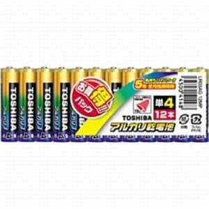 東芝 LR03AG 12MP 【単4形】 12本 アルカリ乾電池