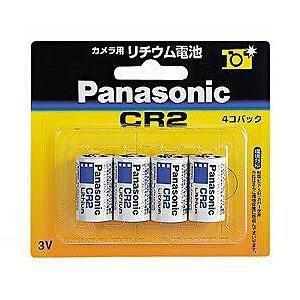 パナソニック 【円筒形リチウム電池】(4個入り) CR-2W/4P