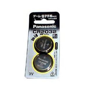 パナソニック CR-2032/2P 【リチウムコイン電池】(2個入り)