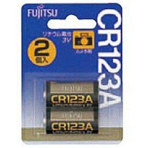 FDK カメラ用リチウム電池(2個入り) CR123AC(2B) N