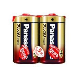 パナソニック LR20XJ/2SE アルカリ乾電池単1形2本パック