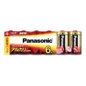パナソニック アルカリ乾電池単1形6本パック LR20XJ/6SW