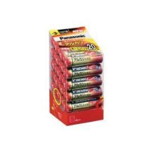 パナソニック アルカリ乾電池単3形20本パック LR6XJ/20SH