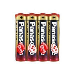 パナソニック アルカリ乾電池単4形4本パック LR03XJ/4SE