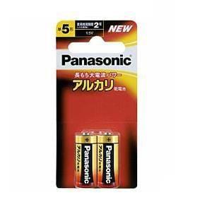パナソニック 【単5形】アルカリ乾電池(2本入り・ブリスター) LR1XJ/2B