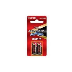 マクセル アルカリ単5乾電池×2本入り ボルテージ LR1(T)2B