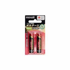 マクセル 【単4形】アルカリ乾電池「ボルテージ」(2本入り) LR03-T-2B