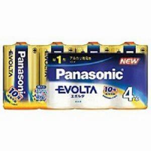 パナソニック 単1形 アルカリ乾電池 「エボルタ」 (4本入り) LR20EJ/4SW